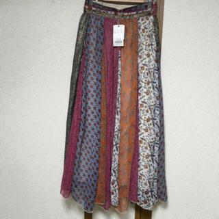 Ungrid - 🏷タグ付き パッチワークロングスカート