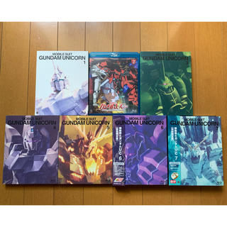 BANDAI - 機動戦士ガンダムUC Blu-ray全巻