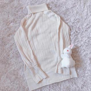 グリモワール(Grimoire)の本日限定 レア ふわふわ vanilla knit(ニット/セーター)