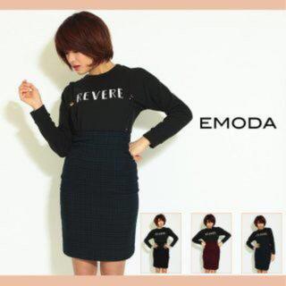 エモダ(EMODA)のEMODA チェック スカート(ひざ丈スカート)