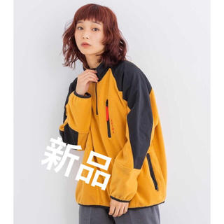 X-girl - ★新品★タグ付き エックスガール  HALF ZIP FLEECE TOP