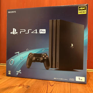 PlayStation4 - 新品未使用 PS4 Pro 1TB ネオヴァーサバンドル版 ブラック