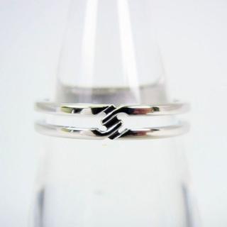 グッチ(Gucci)のグッチ 750WG ダイヤモンド リング 13号[g94-16](リング(指輪))