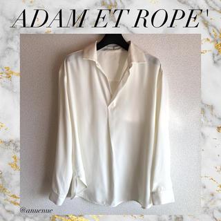 アダムエロぺ(Adam et Rope')のADAM ET ROPE' ブラウス きれいめ オフィス 通勤 お仕事 シャツ(シャツ/ブラウス(長袖/七分))