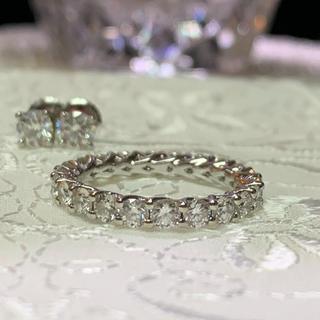 フルエタニティ  ダイヤモンド 2ct以上(リング(指輪))
