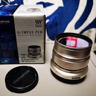 OLYMPUS - OLYMPUS M.ZUIKO 12mm F2.0 美品フィルター付 オリンパス