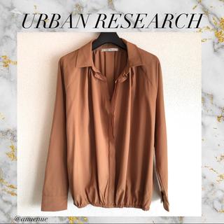 URBAN RESEARCH - URBAN RESEARCH ブラウス トップス 長袖 きれいめ 大人カジュアル