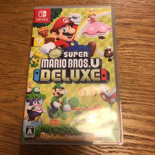 Nintendo Switch - New スーパーマリオブラザーズ U デラックス スイッチ