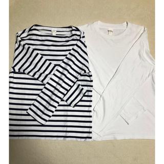 YAECA - ヤエカ YAECA バスクシャツセット Mサイズ ダグ付き