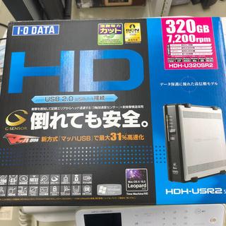 アイオーデータ(IODATA)の外付け ハードディスク(PC周辺機器)