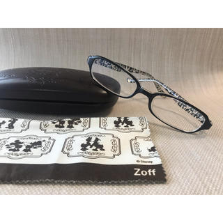 ゾフ(Zoff)のZoff ゾフ ❤︎ ディズニー ❤︎度付き ❤︎ミッキー  ブラック 黒(サングラス/メガネ)