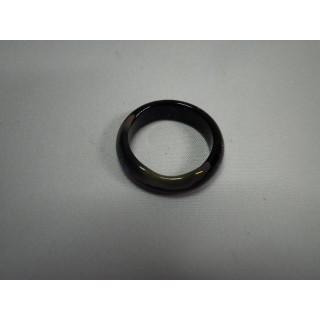 L2-11●パワーストーン●天然石メノウ指輪●瑪瑙 めのう●15号リング●(リング(指輪))