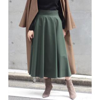 ノーブル(Noble)のNOBLE Wタイプライターフレアースカート◆(ロングスカート)