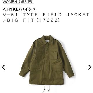 ハイク(HYKE)のHYKE ミリタリージャケット 1(ミリタリージャケット)