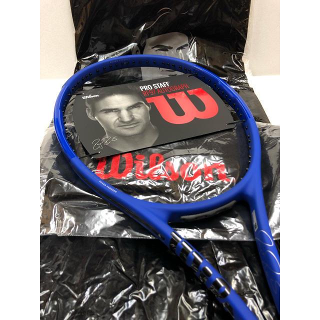 wilson(ウィルソン)の[限定モデル]プロスタッフRF97 LAVER CUP(G2)/ウィルソン スポーツ/アウトドアのテニス(ラケット)の商品写真