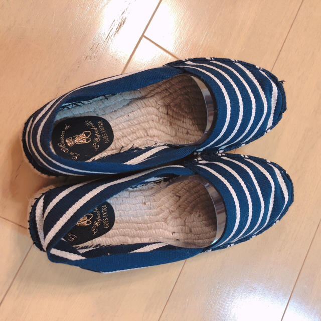 ESPERANZA(エスペランサ)の新品 la maison de l'espadrille スリッポン ブランド レディースの靴/シューズ(スリッポン/モカシン)の商品写真