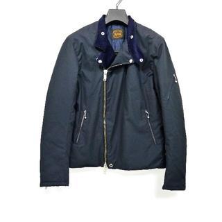 ルイスレザー(Lewis Leathers)の【新品◆中綿入り】ジェームスグロース ライダース 36 S 紺 ネイビー(ライダースジャケット)