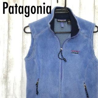 patagonia - Patagonia フリースベスト レディース Rシリーズ 刺繍ロゴ アメリカ製