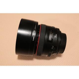 Canon - Canon EF50mm F1.2L USM 単焦点レンズ(プロテクターあり)