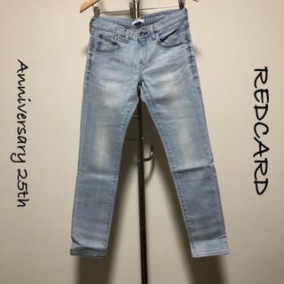 DEUXIEME CLASSE - REDCARD / ボーイフレンドスキニーデニム / 25506 / サイズ23