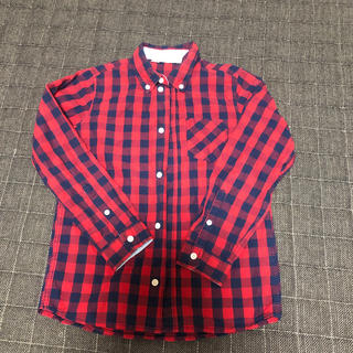 エイチアンドエム(H&M)のH&M ブロックシャツ 130(ブラウス)