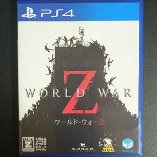 PlayStation4 - 【美品】ワールドウォーZ ps4