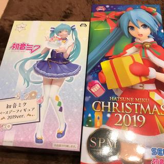 SEGA - 初音ミククリスマス2019とバースデーフィギュア2019バージョン