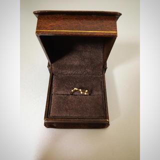 アッシュペーフランス(H.P.FRANCE)の北斗七星💫ダイヤモンドリング(リング(指輪))