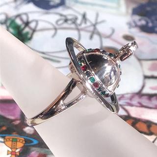 ヴィヴィアンウエストウッド(Vivienne Westwood)の新品 Vivienne ポイズンリング 3D オーブ M(リング(指輪))