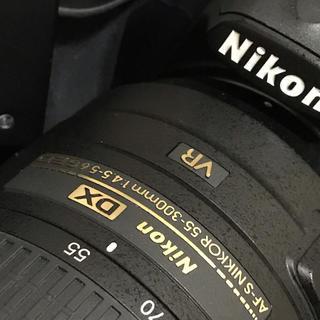Nikon - Nikon 一眼レフカメラ AF-S 55-300 望遠レンズ セット