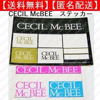 セシルマクビー(CECIL McBEE)のCECIL McBEE ロゴ シール ステッカー グッズ セシルマクビー(シール)