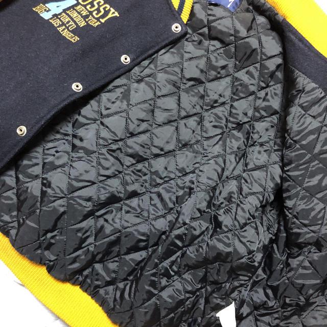 STUSSY(ステューシー)のstussy スタジャン USA製 90年代 ヴィンテージ  メンズのジャケット/アウター(スタジャン)の商品写真