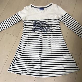 バーバリーブルーレーベル(BURBERRY BLUE LABEL)のバーバリーブルーレーベル ロンT トップス(Tシャツ(長袖/七分))