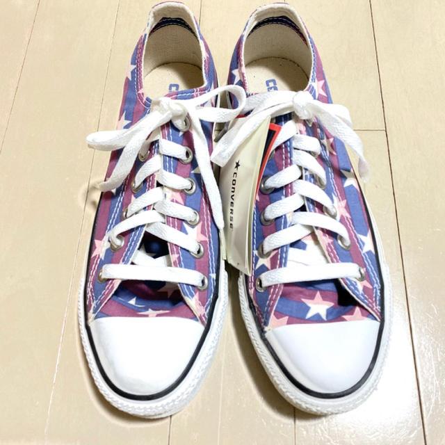 CONVERSE(コンバース)のCONVERSE オールスター STARS&BARS WS OX 24.5cm レディースの靴/シューズ(スニーカー)の商品写真