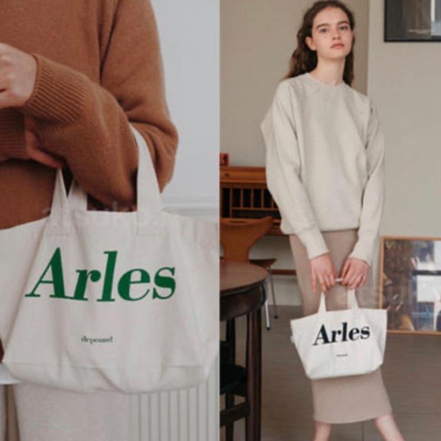 dholic(ディーホリック)のdepound Arles ロゴ ミニトート レディースのバッグ(トートバッグ)の商品写真