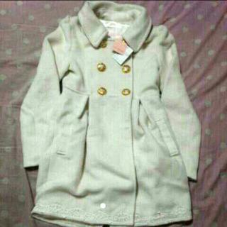 リズリサ(LIZ LISA)の白コート(ロングコート)
