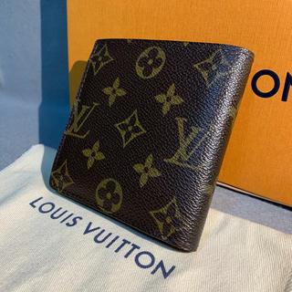 ルイヴィトン(LOUIS VUITTON)の美品 ルイヴィトン モノグラム 折り財布 マルコ(折り財布)