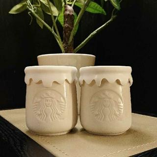Starbucks Coffee - 韓国スタバ ヨーグルト蓋付き空き瓶 2個セット❣️ 宅急便でお届け致します♪