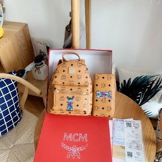 MCM エムシ-エム 大人気 バッグパック リュック 長財布 美品 セット