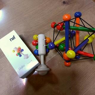 Neaf - ネフ社 ドリオ ボーネルンド ガラガラ おもちゃ 0歳 知育玩具 木製玩具