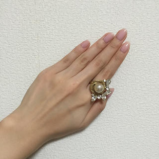 アクアガール(aquagirl)の再お値下げ↓gren ヴィンテージリング(リング(指輪))
