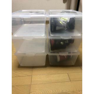 アイリスオーヤマ(アイリスオーヤマ)のアイリスオーヤマ 12.8L× 6個セット スニーカーケース(スニーカー)