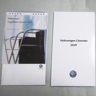 フォルクスワーゲン(Volkswagen)の【Volkswagen フォルクスワーゲン】卓上カレンダー2019 非売品(ノベルティグッズ)