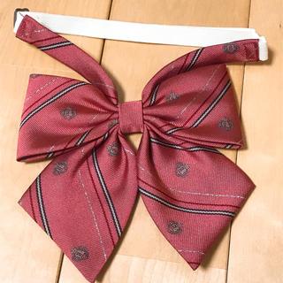 イーストボーイ(EASTBOY)のイーストボーイ リボン 制服 ピンク ラメ 美品(ネクタイ)