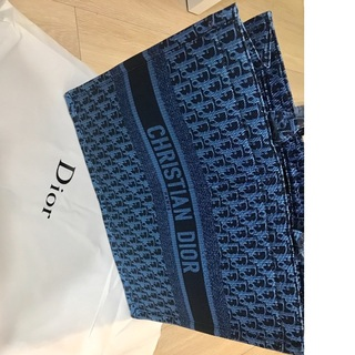 Dior Book tote ディオール オブリーク 青