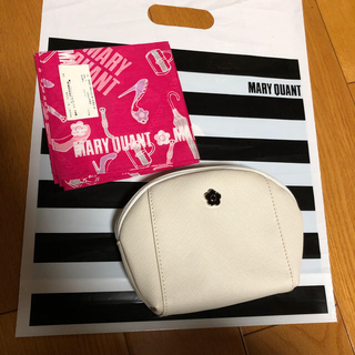MARY QUANT - マリークワント ポーチと新品ハンカチチーフ