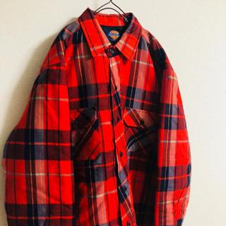 Dickies - 【◎これはめっちゃレア◎】値下げしました チェックシャツ キルティング80s