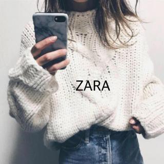 ZARA - ZARA ローゲージ編みニット S