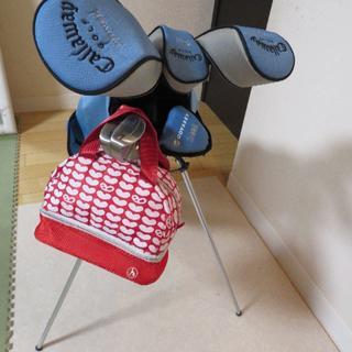 Callaway Golf - レディース ゴルフセット(美品 キャロウェイGEMS、可愛いカートバッグ付)