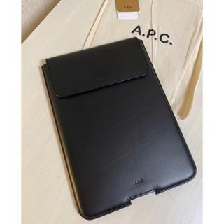 A.P.C - 新品【A.P.C.アーペーセー】iPad・タブレットケース/ブラック